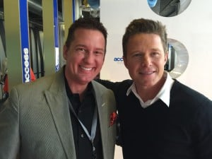 Richard Krawczyk and Access Hollywood Host Billy Bush