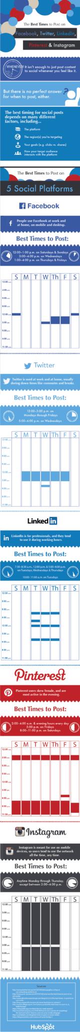 best-social-media posting-times-graphic